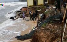 Sóng biển cuốn trôi nhiều ngôi nhà ở Phú Quốc, Kiên Giang