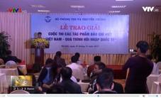 Trao giải cuộc thi Việt Nam - quá trình hội nhập quốc tế