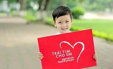 Ủng hộ 60 triệu đồng cho trẻ em nghèo bị tim bẩm sinh