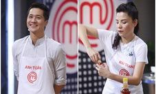 """Vua đầu bếp 2017: Anh Tuấn loay hoay nấu một món, Kiwi Ngô Mai Trang """"chơi"""" hẳn hai món"""