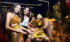 Thí sinh Hoa hậu Hữu nghị ASEAN thích thú với ẩm thực Phú Yên