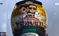 Những điều thú vị về chiếc mũ bảo hiểm của các tay đua F1