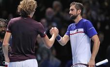 Bán kết Rome mở rộng: Zverev thắng kịch tính Cilic