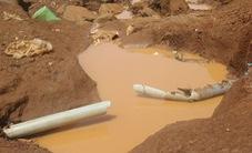 Đồng Tháp: Thi công đê khiến hàng trăm hộ dân bị mất nước sinh hoạt