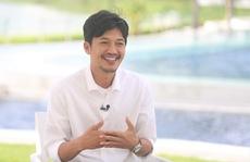 Nụ cười điển trai của diễn viên Quang Tuấn
