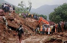 Sạt lở ở Lai Châu, hai bố con bị đất đá vùi lấp mất tích