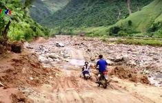 Cảnh báo sạt lở đất tại Sơn La, Hòa Bình