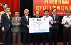 Bệnh viện Đại học Chung Ang tặng thiết bị y tế cho Quảng Ngãi