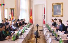 Tuyên bố chung Việt Nam - Áo