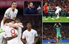 Kết quả bóng đá quốc tế sáng 16/10: ĐT Anh giành chiến thắng ngay trên sân của ĐT Tây Ban Nha
