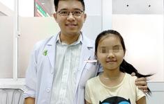 Bé gái có khối u phổi thuộc dạng hiếm trên thế giới