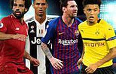 Ngắm đội hình siêu tấn công ở 4 giải đấu lớn nhất châu Âu