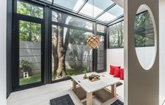 Ngôi nhà cho thuê có thiết kế linh hoạt