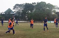 U19 Việt Nam liên tục gặp khó tại Indonesia