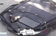 Hai nhóm giang hồ tông ô tô vào nhau, rút súng hỗn chiến