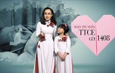 BTV Hoài Anh rạng rỡ cùng con gái kêu gọi ủng hộ cho chương trình Trái tim cho em