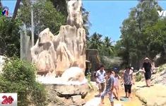 Bình Thuận: Tháo dỡ công trình xây dựng trái phép ở danh thắng du lịch
