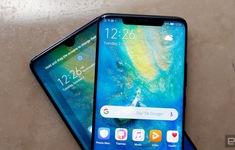 """Ra mắt Mate 20 và Mate 20 Pro, Huawei không quên """"dìm hàng"""" Apple"""
