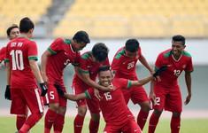 TRỰC TIẾP BÓNG ĐÁ U19 Indonesia 0–0 U19 Đài Bắc Trung Hoa:  Hiệp một