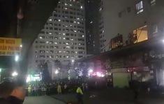 Bé sơ sinh tử vong nghi rơi từ chung cư HH Linh Đàm