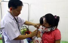 Nghệ An: Trẻ mắc sởi nhập viện gia tăng