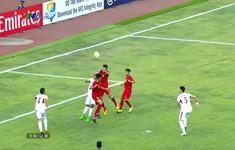 VIDEO: Mạnh Dũng ghi bàn thắng đầu tiên cho U19 Việt Nam tại VCK U19 châu Á 2018
