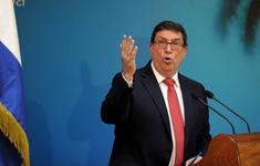 Ngoại trưởng Cuba tiếp nghị sĩ Mỹ