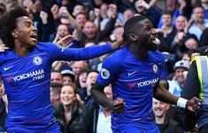 TRỰC TIẾP BÓNG ĐÁ Ngoại hạng Anh, Chelsea 1-0 Man Utd: Hiệp 1 kết thúc