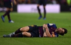 Đã rõ tình trạng chấn thương nghiêm trọng của Messi
