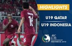 VIDEO: Tổng hợp trận đấu U19 Qatar 6-5 U19 Indonesia (Bảng A VCK U19 châu Á 2018)
