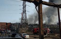 Cháy nhà máy luyện kim tại Nga, 1 lính cứu hỏa thiệt mạng