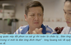 """NSƯT Chí Trung: Đạo diễn cho tôi đặc quyền """"bay nhảy"""" trong lời thoại"""