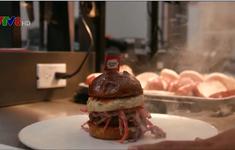 Tạo ra bánh burger chay góp phần bảo vệ môi trường