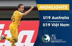 VIDEO: Tổng hợp trận đấu U19 Australia 2-1 U19 Việt Nam (Bảng C VCK U19 châu Á 2018)