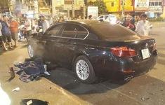 TP.HCM: Ô tô đâm liên hoàn nhiều xe máy trong đêm, 1 người thiệt mạng