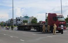 Tăng cường đảm bảo an toàn giao thông tuyến đường ra vào cảng Đà Nẵng