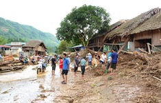Lũ quét gây thiệt hại ở Lào Cai và Hà Giang