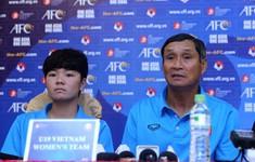 HLV trưởng Mai Đức Chung: U19 nữ Việt Nam đặt mục tiêu giành vé vào vòng 2 U19 nữ châu Á 2019