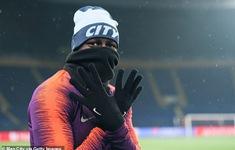 Man City hé lộ đội hình đấu Shakhtar Donetsk trên sân tập lạnh buốt