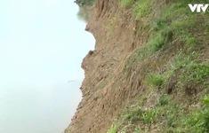 Khai thác cát gây sạt lở, uy hiếp khu dân cư tại Bình Định