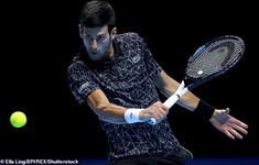 ATP Finals 2018: Djokovic thắng dễ Isner, Zverev vượt qua Marin Cilic