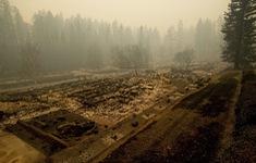 Mỹ: Cháy rừng, cả thị trấn bị thiêu rụi