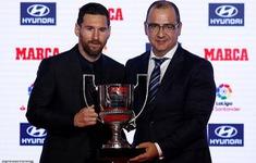 Lionel Messi thắng lớn tại lễ trao giải Marca