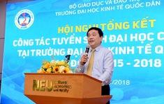 Đại học Kinh tế Quốc dân tiếp tục tăng cường ứng dụng CNTT trong tuyển sinh