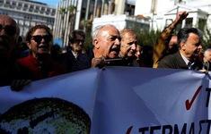 Hy Lạp: Hàng nghìn người lao động đình công đòi tăng lương