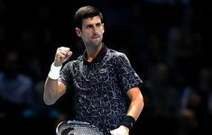 ATP Finals: Djokovic dễ dàng vượt ải Zverev, Cilic thắng ngược Isner