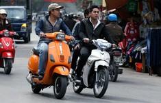 Gia tăng hành vi đi xe máy không đội mũ bảo hiểm
