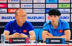 AFF Cup 2018: Công Phượng cảnh báo đồng đội về mũi tấn công Aung Thu của Myanmar