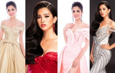 Lộ diện 4 chiếc đầm dạ hội Hoa hậu Tiểu Vy mang đến Miss World 2018