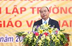 Thủ tướng dự Kỷ niệm 55 năm trường THPT Đa Phúc